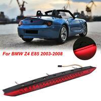 LED Third Brake Stop Light Rear Tail Red Lamp Bar For BMW E85 Z4 Trunk 2003-2008