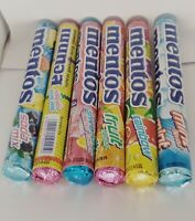 37 g / ROLL MENTOS CHEWY CANDY WATERMELON PINK LEMONADE SODA MIX FRUITS MINT
