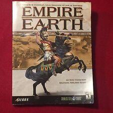 Empire Earth Sierra Games Game Guide Book