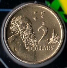 1992 Two Dollar Coin - Uncirculated - Taken from Mint Set