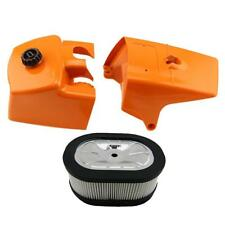 Air Filter Cover + Clinder Cover Part Kit for STIHL 066 MS650 MS660 Chainsaw