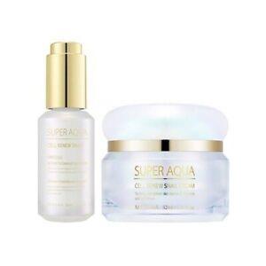 Missha Super Aqua Cell Renew Snail Set Ampoule 30ml Cream 52ml K-Beauty