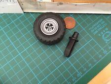 4186 Tyre- Rims & Wheel Pins/ Axels /Axles pin- D44x19/1 5615 - Playmobil Spares