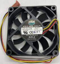 Cooler Master A7015-30RB-3AN-P1 70mm x 15mm 3-Pin Computer CPU Cooling Fan