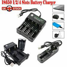 18650 Batería De Li-Ion 6000mAh 3.7V baterías recargables con USB cargador inteligente