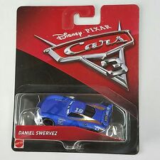 Disney Pixar Cars 3 Daniel Swervez #19 New Octane Gain Diecast Mattel 1:55 Scale