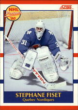 1990-91 Score Canadian #415 Stephane Fiset RC | + Bonus