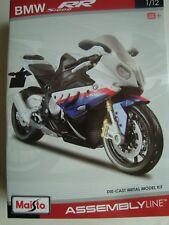 NEW MAI39051 Maisto  Moto En Kit PREPEINT  1/12  BMW S 1000 RR
