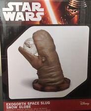 Star Wars Empire Strikes Back Exogorth Space Slug Snow Globe Millennium Falcon