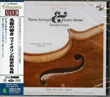 PIERRE AMOYAL (VIOLIN)-LES VIOLONS-JAPAN SACD Hybrid H00