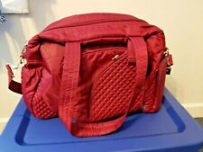Lug  Carry All Bag, Maroon, One Size See pics FREE SHIPPING