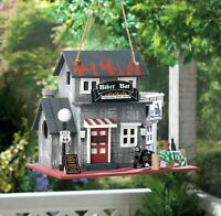ROUTE 66 MOTORCYCLE BIRDHOUSE - Great Gift for Harley Davidson Enthusiasts