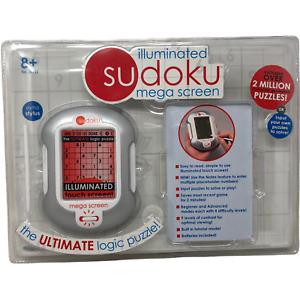 NIP Illuminated Sudoku Mega Screen Electronic Logic Puzzle Sealed Costco Techno