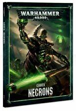 Codex Necrons Hardback Rulebook Warhammer 40K