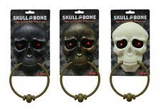 Doorbell Lights Sound Halloween Skull Eye Scary Door Bell Props Decoration Party