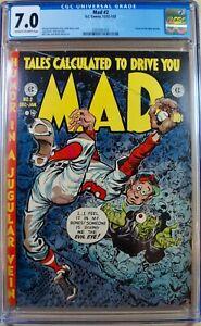 MAD #2 EC Comics CGC 7.0 Dec 1952/Jan 1953 Kurtzman Severin Elder Davis Wood