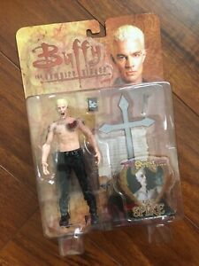 DST GRAVE SPIKE MOC Action Figure Buffy the Vampire Slayer James Marsters Angel