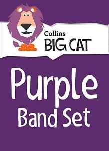 Purple Starter Set: Band 08/Purple (Collins Big Cat Sets), Collins Big Cat, New,