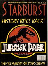 STARBURST MAGAZINE 179 UK JURASSIC PARK