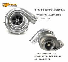 "T76 Universal Performance Turbo Charger 0.68 A/R P Trim T4 3"" V-band Exhaust"