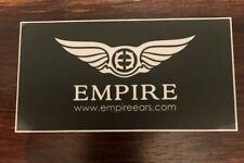 Empire In Ear Monitors Sticker / Decal