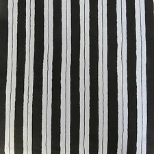 5 m Black and White Poly cotton Knit 150 cm wide , T shirt, Top, Dress
