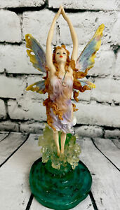 RARE 2001 Signed Veronese Design Toscano Butterfly Fairy Splash Water Sculpture