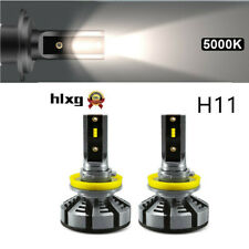 5000K H11 LED 150W 225000LM With Lumileds Luxeon ZES Chips Car Headlight Blubs