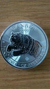 grizzly canada Predateur 2019 1once 9999