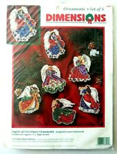 Dimensions Angels of Christmas Ornament Counted Cross Stitch Kit James Himsworth