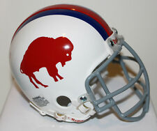 1966 Buffalo Bills Billy Shaw Custom Riddell Mini Helmet with Metal Facemask