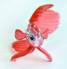 Swarovski Red Siamese Fighting Fish South Sea Collection Mint