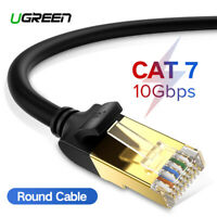 Ugreen Ethernet Cable Cat7 Shielded Network RJ45 Patch Cord 10 Gigabit Fr PS4 PC