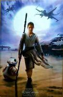 Star Wars Episode VII 7 The Force Awakens Rey Poster 22x34 882663039661
