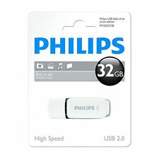 New Philips 32GB USB Flash Drive - Tested With MP4 Movies