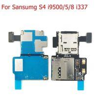 For Samsung Galaxy S4 i9500/5/8 i337 Sim Card Memory Reader Tray Slot Flex Cable
