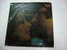 KHOON PASINA KALYANJI ANANDJI 1977  RARE LP RECORD OST orig BOLLYWOOD VINYL EX