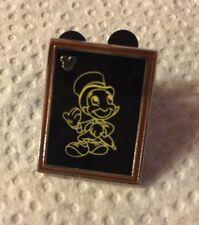 2014 Disney Pin Jiminy Cricket 00004000  #102306 Hidden Mickey Chalk Sketch Chaser Black