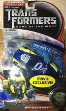 Transformers SIDESWIPE DOTM Deluxe Walmart Exclusive Corvette Stingray sidearm