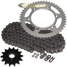 Steel O-Ring Drive Chain & Sprocket Kit Fits KAWASAKI KLX400B KLX400R 2003