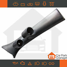SAAS Dual Gauge Pillar Pod Suits Ford Falcon XR6 XR8 FG-FGX 2008-2016 Paintable