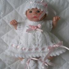 Creative Dolls Designs Knitting pattern Dress Set for sculpt Berenguer Dolls