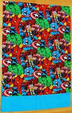 Marvel Comics Universe Pillowcase Hulk/Spiderman/Thor/Iron Man/Captain America