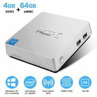 ACEPC Windows 10 PRO T11 Mini PC 4GB RAM 64GB eMMC Intel Quad Core 4K HDMI SATA