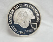 1987 Washington Redskins NFC Eastern Division Champions .999 Silver 1 oz