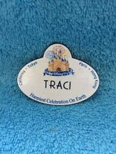 Walt Disney World Cast Member Name Tag Badge TRACI Happiest Celebration On Earth