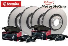 Brembo Bremsscheiben + Beläge VW TIGUAN (5N_) VORNE 312MM + HINTEN 282MM