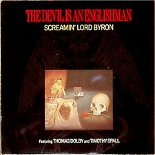 "THOMAS DOLBY SCREAMIN LORD BYRON 'DEVIL IS AN ENGLISHMAN' UK PIC/SLV 7"" SINGLE"