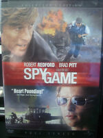 Spy Game (DVD, 2002, Full Frame; Collector's Edition) Robert Redford WORLD SHIP