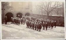Kensington. Linton House School, Holland Park Avenue. Drill in Playground.